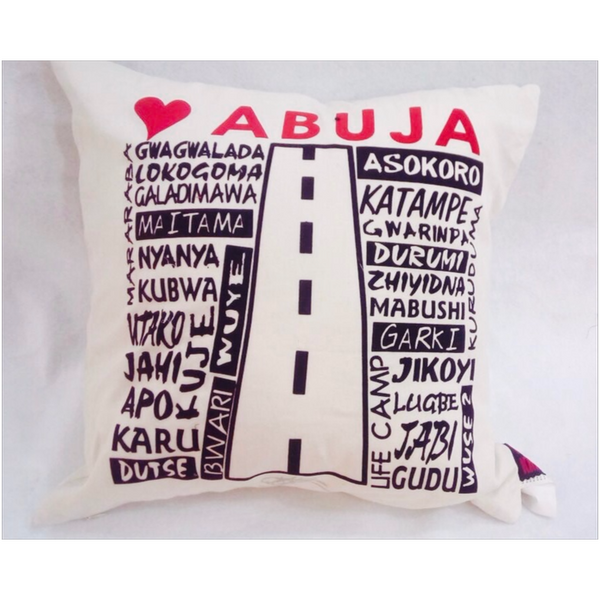 PATRIOTIC LOVE SERIES - LOVE ABUJA (BEIGE)