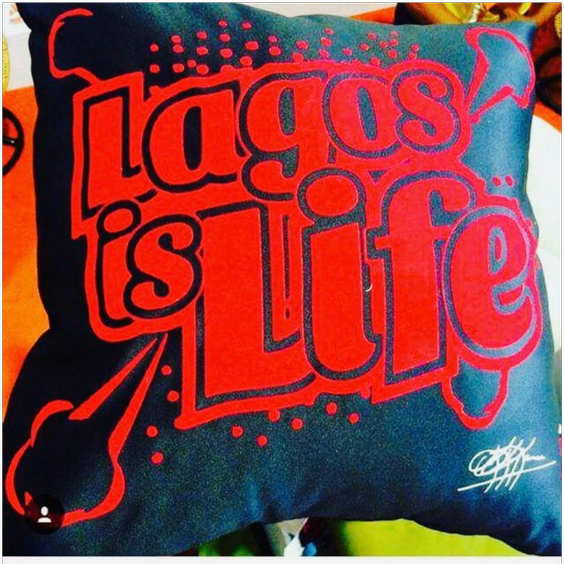 GOT SERIES: LAGOS IS LIFE (BLACK)
