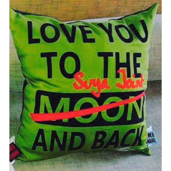 LOVE YOU TO THE MOON & BACK - SUYA JOINT (OLIVE)