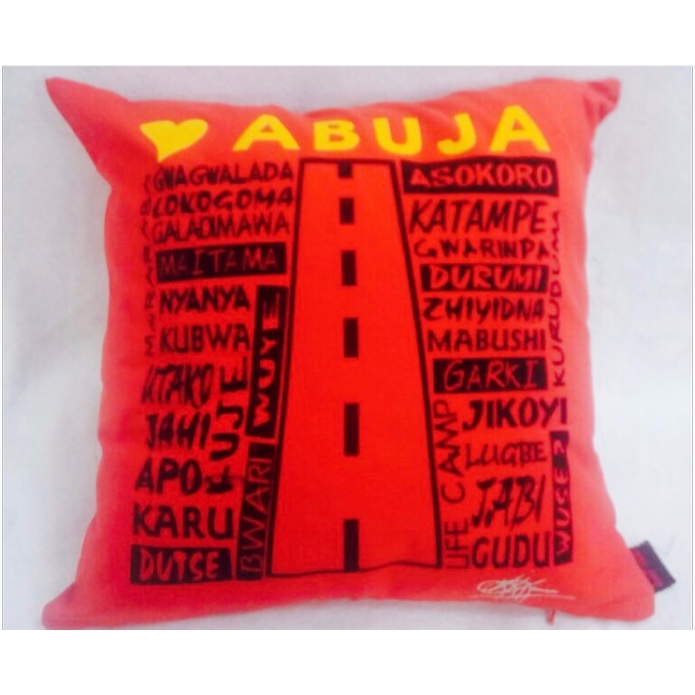 PATRIOTIC LOVE SERIES - LOVE ABUJA (RED)