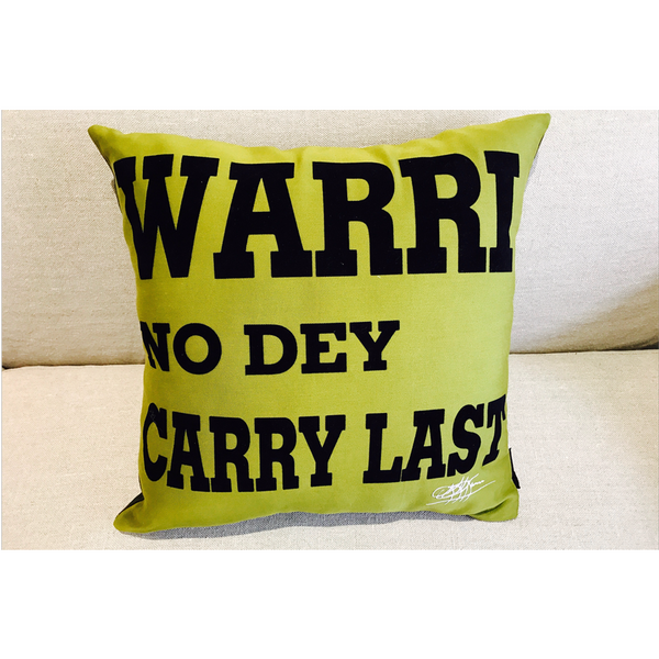 MY 'CITY' ROCKS SERIES! - WARRI NO DEY CARRY LAST