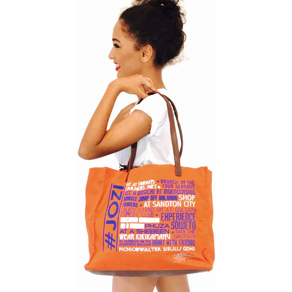 #JOZI FAVOURITE THINGS LEATHER TRIM TOTE