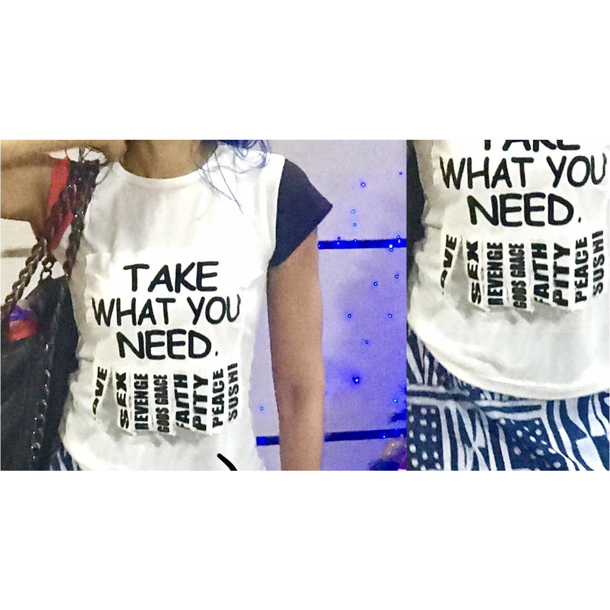 'Take What You Need' Blouse