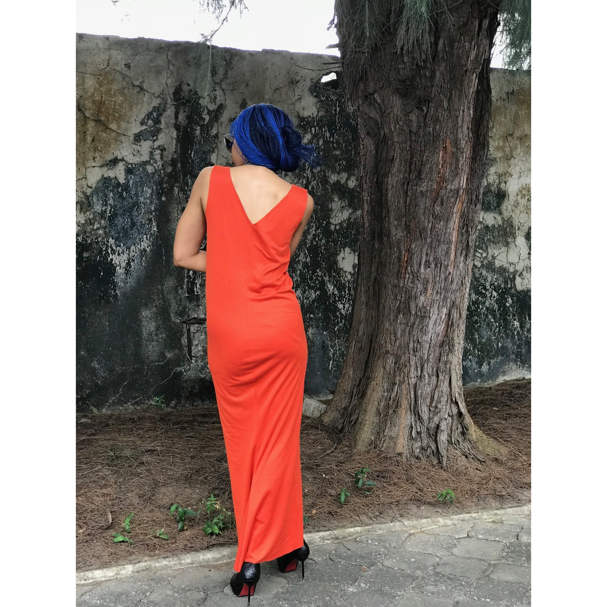 J'ADORE +234 SLEEVELESS MAXI DRESS