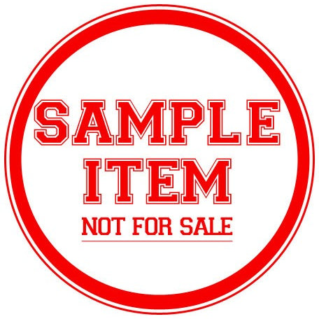 Sample Item - NOT FOR SALE