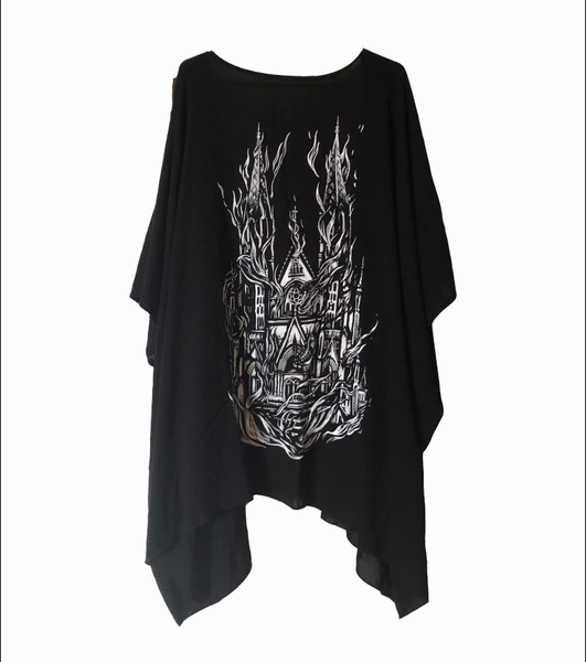 Ceneri Church Burner Cover Up Kimono