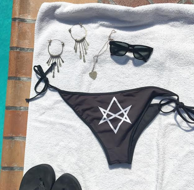 Two Tone Unicursal Hexagram Bikini