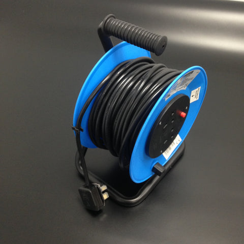 Cable Reel Extension 13 amp 25 metre 2 sockets