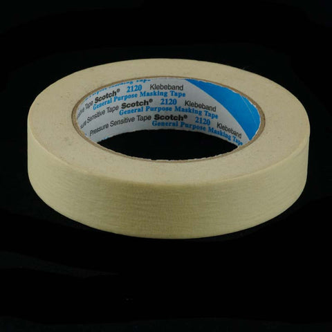 Masking Tape W25mm x 50metres single roll
