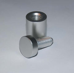 Barrel Fixings Available in 2 Finishes
