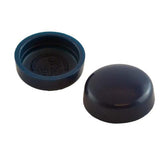 Snapcaps Screw Covers & Flat Bottom Washers Navy 6/8 Gloss - Pack of 25