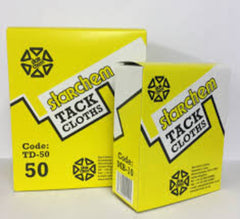 Tack Cloths Pack 50