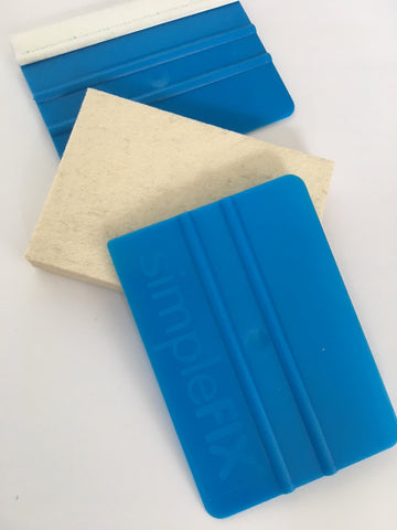 Simplefix Starter Triple Pack Squeegees