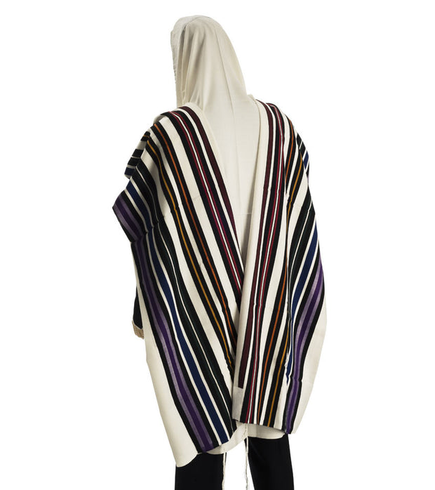 Modern Wool Tallit - Beney Or (Sons of light)