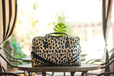 Leopard Print Travel Bag