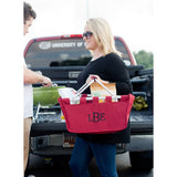 Red Market Tote Personalized - Vintage Country Couture