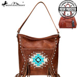 Montana West Aztec Collection Hobo Handbag