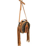 Montana West Signature Monogram Collection Crossbody / Hip Bag