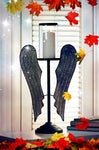 Tall Angel Wings Candle Holder