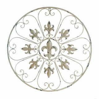 Fleur De Lis Wall Decor - Vintage Country Couture