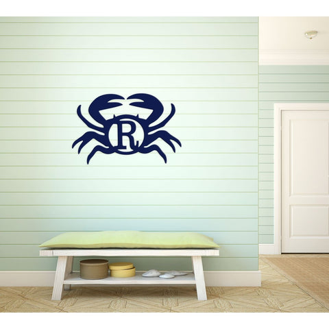Nautical Wood Monogram - Vintage Country Couture