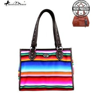 Montana West Serape Handbag & Wallet - Vintage Country Couture