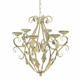 Iron Chandelier Hanging Candle Holder