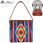 Montana West Serape Tribal Print Collection Handbag - Vintage Country Couture