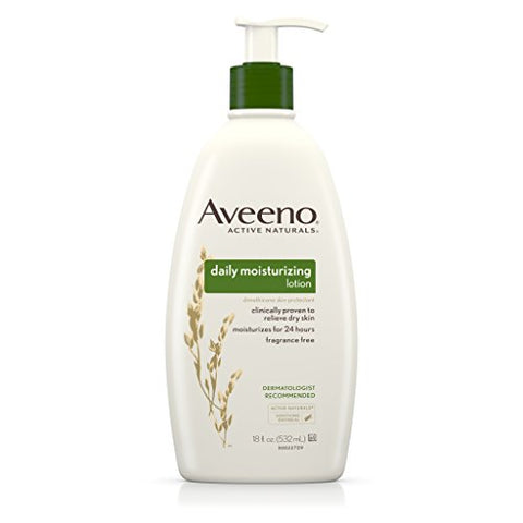 Aveeno Daily Moisturizing Lotion For Dry Skin, 18 Fl. Oz