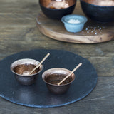 Copper Condiment Set