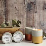 Copper Dipped Concrete Soy Wax Candle