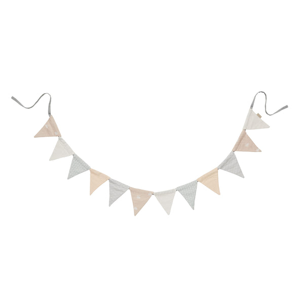 Nude mix Bunting Flags