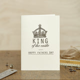 King of the Castle - Father's Day Card