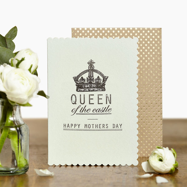 Queen of the Castle - Mother's Day Card