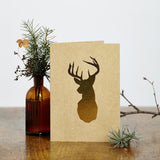 Gold Stag Card