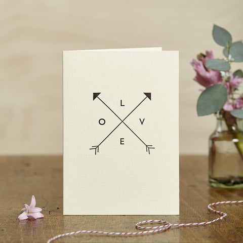 Love Arrows Card
