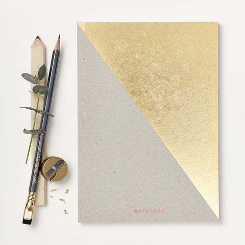 Gold Triangle Notebook