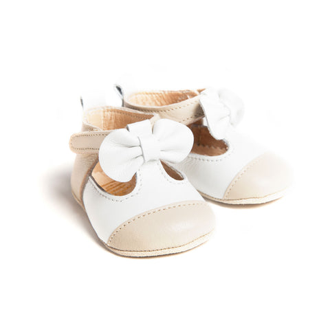 Matilda Cream Baby Girl Shoes (0-6 months)