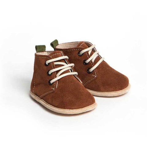 Brown Edward Baby Boy Shoes (0-6 months)