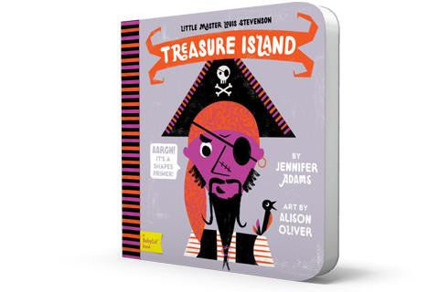 Treasure Island Baby Book