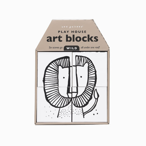 Playhouse Art Blocks - Wild Lion