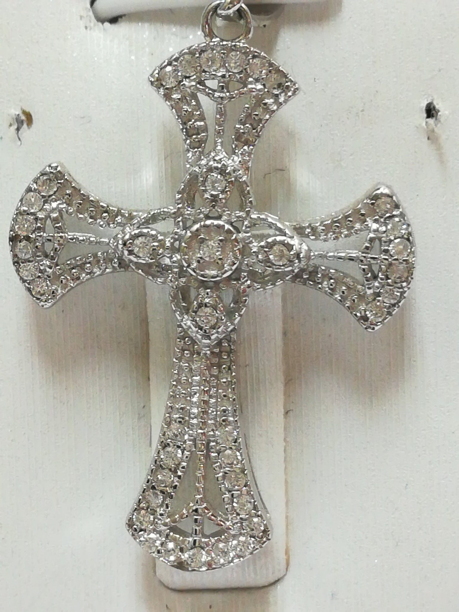 drag two roll limoges over stainless pendant crucifix zoom image steel larger jewelry to tone