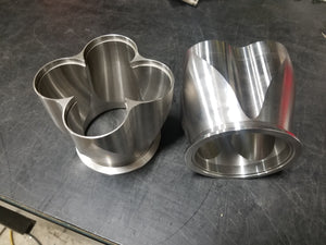 GLS Billet Header Collectors