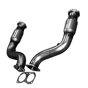 "KOOKS 2005-2006 GTO 3"" X 3"" CATTED CONNECTION PIPES"