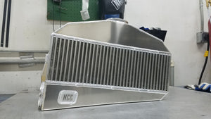 "NCC (BMF 2000HP/6"" Thick) Air to Air Intercooler (Bell Core) Vertical SST"