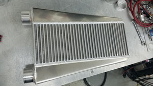 "NCC (1500HP/4.5"" Thick) Air to Air Intercooler (Bell Core) Vertical SSS"