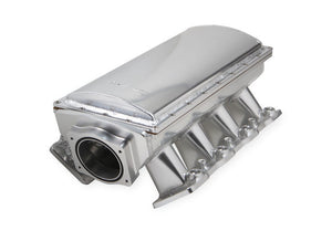 SNIPER EFI FABRICATED RACE SERIES INTAKE MANIFOLD - GM LS1/LS2/LS6 - SILVER