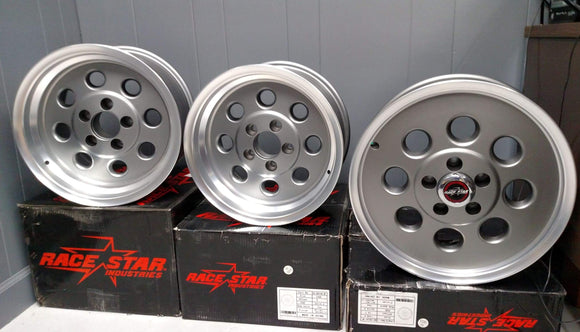 Race Star 82 wheels 5x4.5 bolt pattern (PAIR)