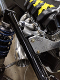 "RSM/GLS 2.5"" x 4"" Billet Header Collectors"