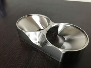 "Street Carr Fabrication Stainless Billet 3.5"" Dual/OPEN T6 Flange"